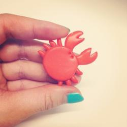 Crab Brooch, Cancer Horoscope Star Sign